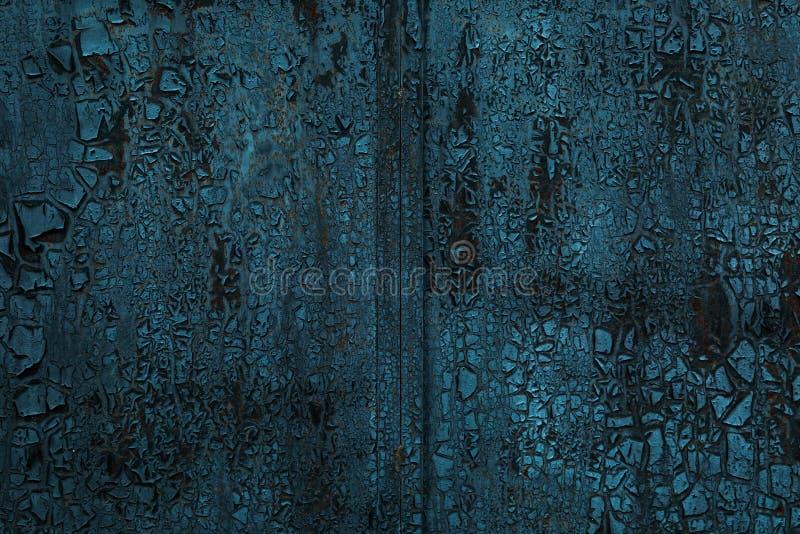 Surface métallique carbonisée photos libres de droits