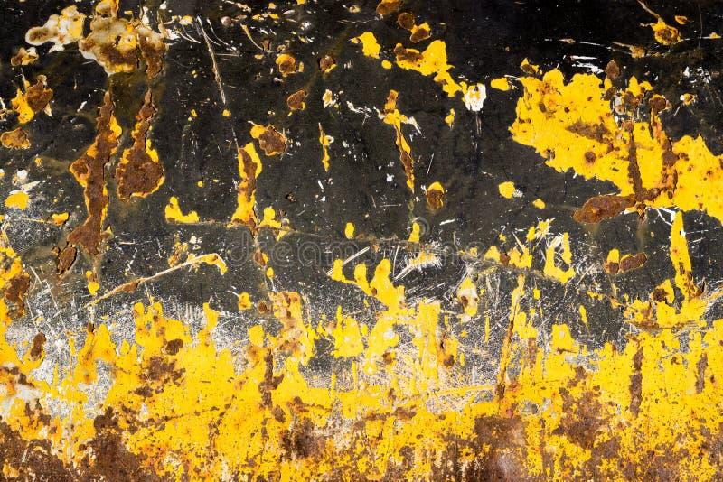 Surface métallique de fer de rouille Texture et fond image libre de droits
