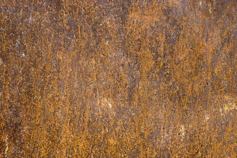 Surface métallique de fer de rouille Texture et fond photos libres de droits