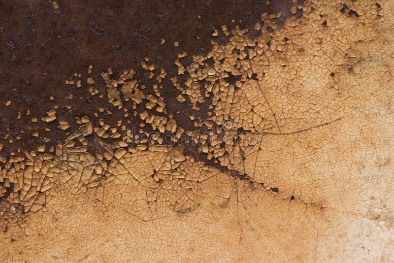 Surface métallique de rouille images libres de droits