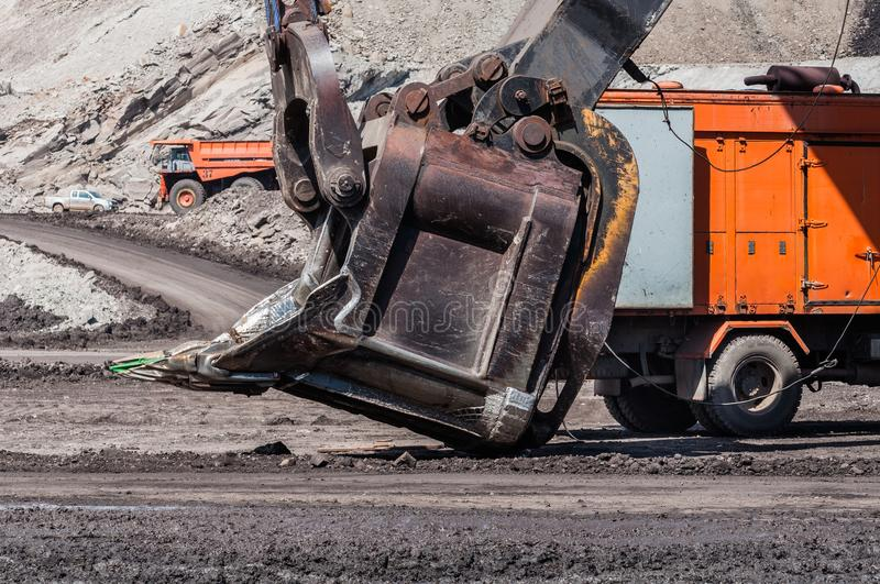 Surface Mining Equipment royalty free stock image