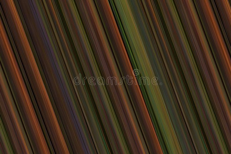 Surface multi-colored striped background in brown tones royalty free illustration