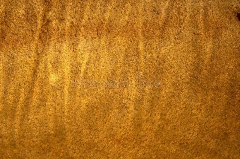 Surface onduleuse d'or image libre de droits