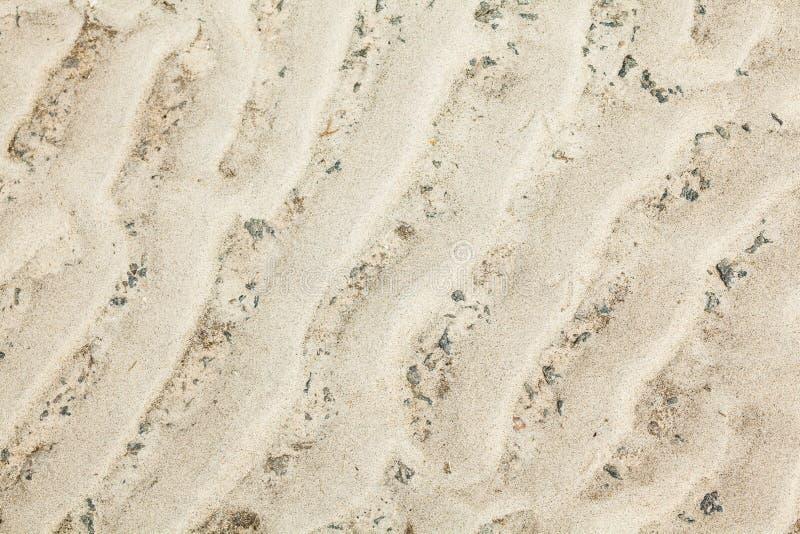 Surface onduleuse de sable image stock