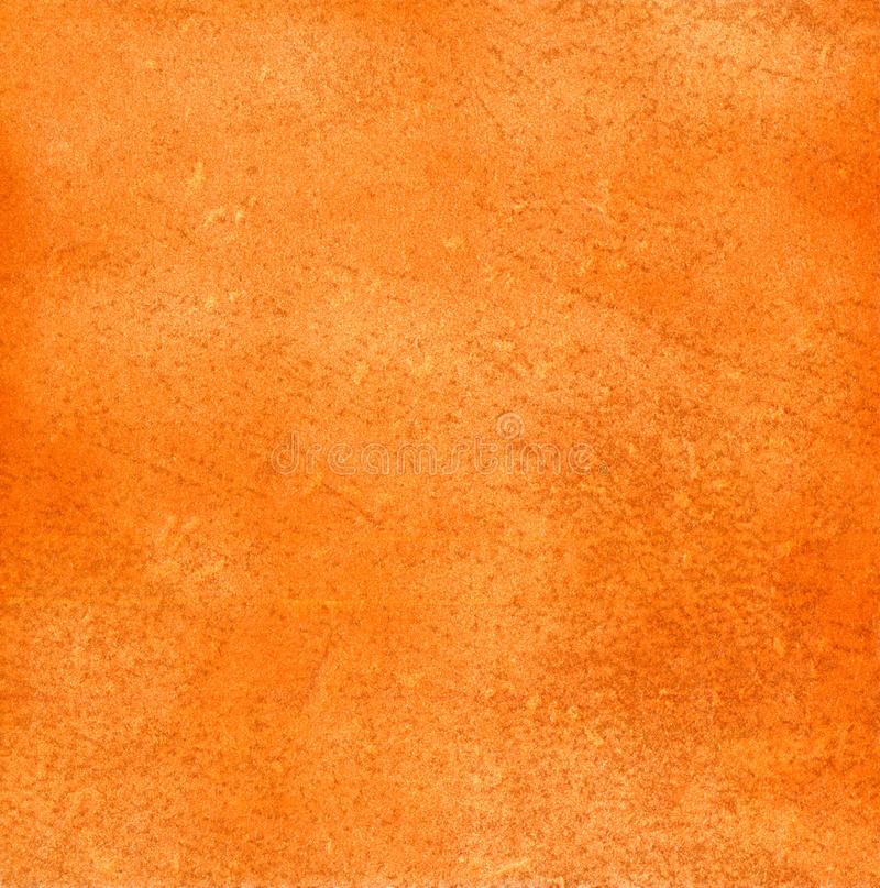 Surface of an orange pottery. Texture of an orange pottery as a background royalty free stock image