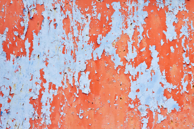 Surface peeling paint peeling off royalty free stock photo