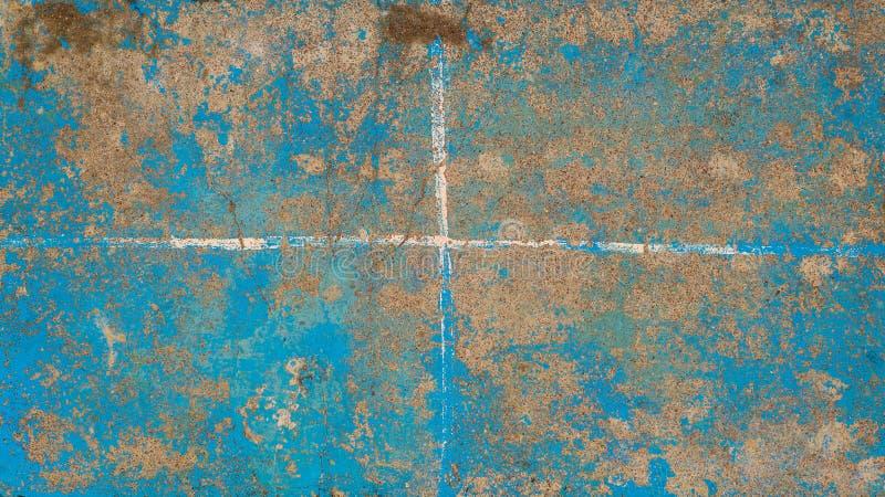 Surface peinte sale corrompue Arrière-plan de grunge abstrait photos libres de droits