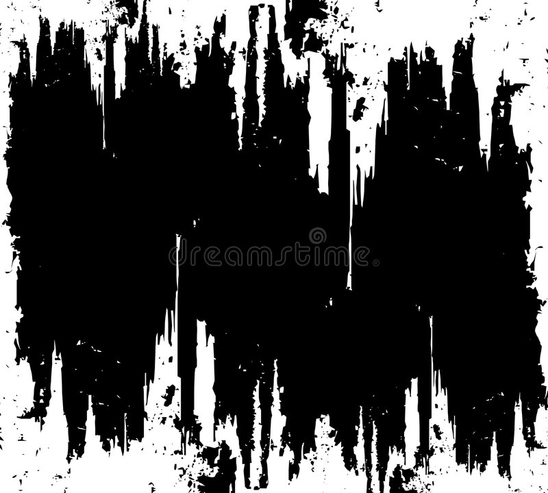 Surface rayée noire grunge illustration libre de droits