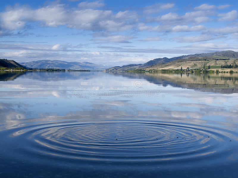 Surface Ripples royalty free stock photography