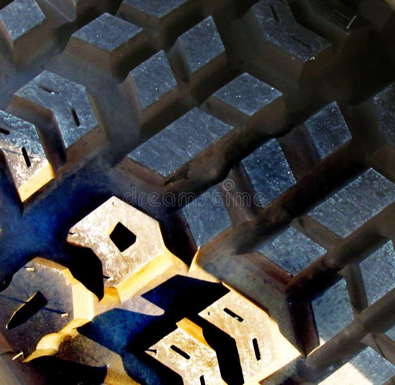 Surface rocailleuse de pneu photo libre de droits