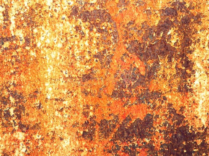 Surface rouge de rouille photos libres de droits