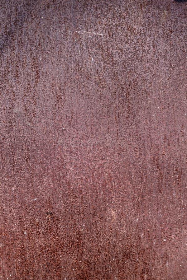 Surface rouillée en métal images stock