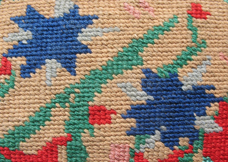 Download The Surface Of The Solid Embroidery Stitch Stock Image - Image: 13908787