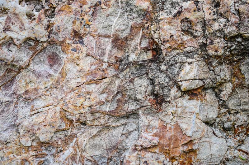 Surface of Stone, Nature Background. Brown, abstract, antique, architecture, art, backdrop, beautiful, bright, build, canvas, cavity, classic, closeup stock photography