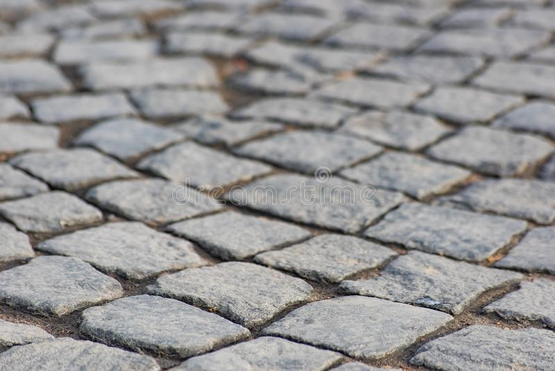 Stone Paving Stone Macro Blue And Orange Soft Focus Stock Image Image Of Colorful Detail 117639343