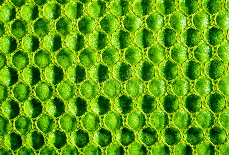 Green Rubber Mesh Stock Photo Image Of Plastic Cloth