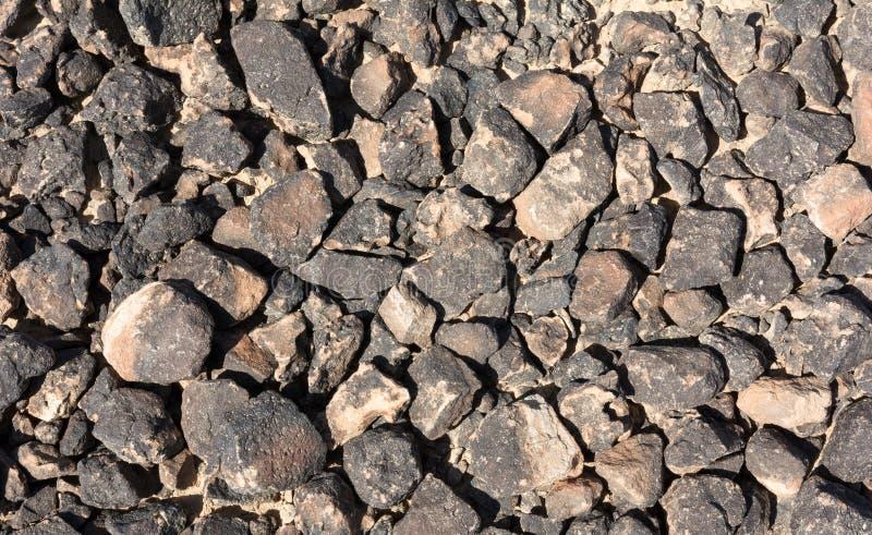 Surface texturisée des roches de désert photo stock