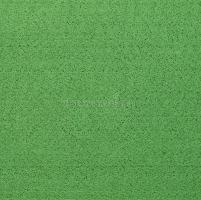 Surface vert clair de feutre image libre de droits