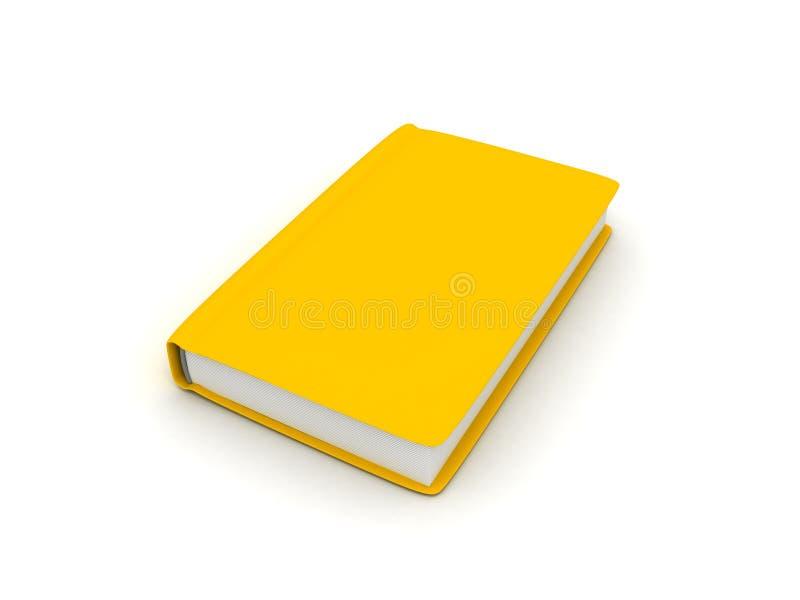 surface vit yellow för bok vektor illustrationer