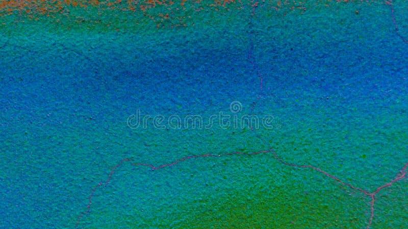 Surfage de Conkrete Fondo coloreado Textura del diseño Azul y verde brillante imagenes de archivo