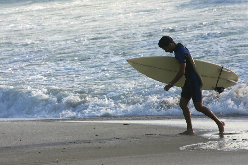 Surfar Sardinian imagens de stock