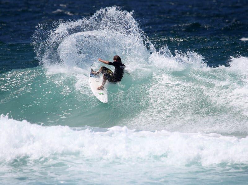 surfare arkivbild