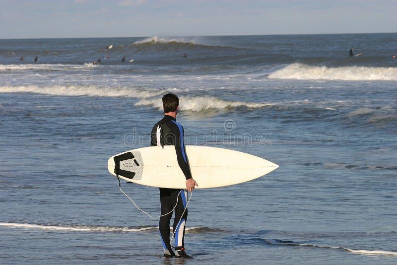 Download Surfare fotografering för bildbyråer. Bild av wind, bränning - 46003