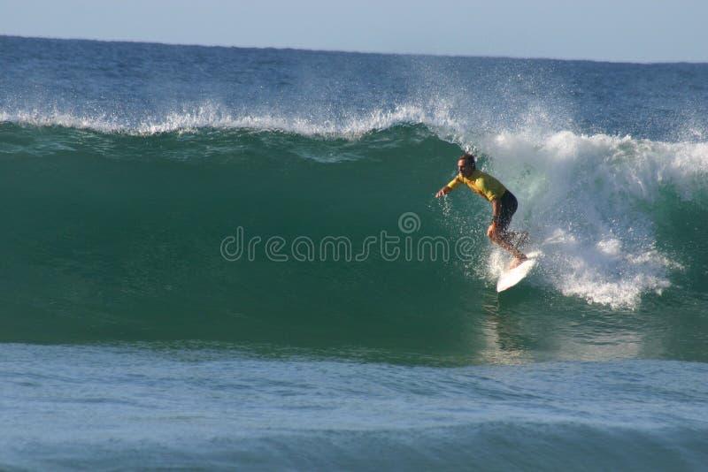 surfare för chris davidsonprofessionell royaltyfria bilder