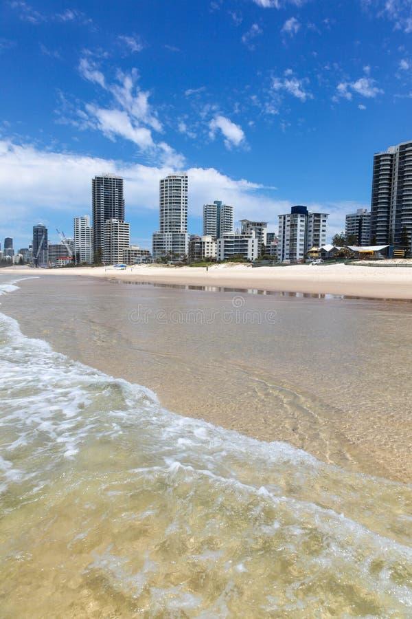 Surfare Paradise - Gold Coast Queensland Australien royaltyfria bilder