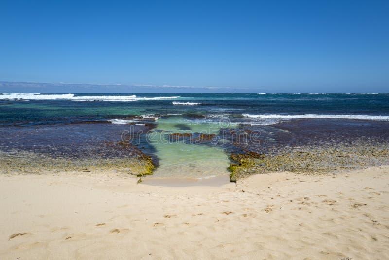 Surfares punkt i västra Australien arkivbilder
