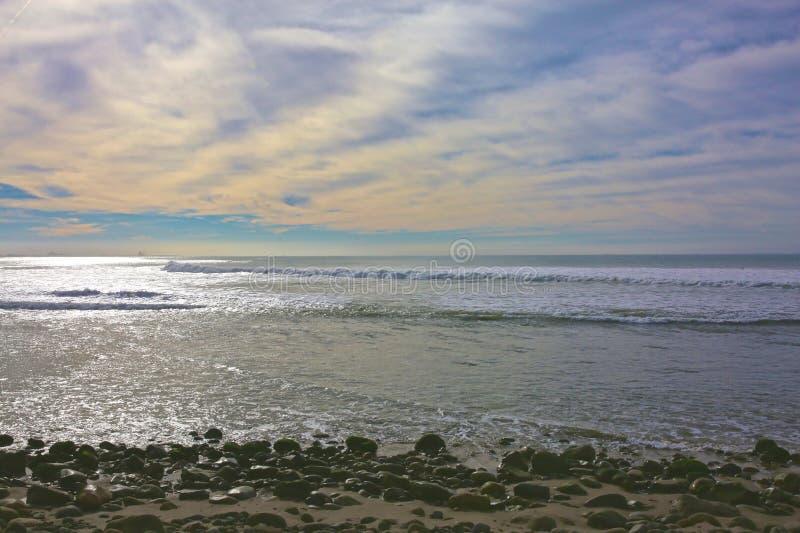 Surfares punkt Ventura California arkivfoto