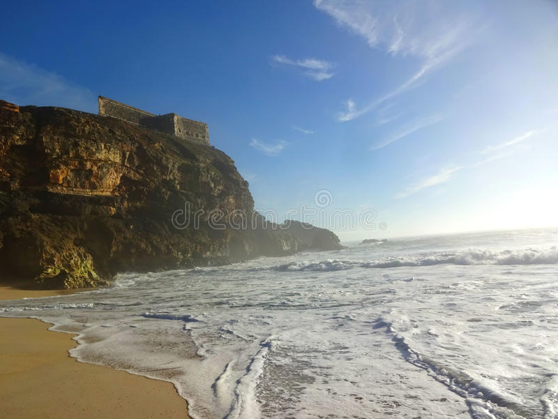 Surfbeach - Praia do Norte stock photo