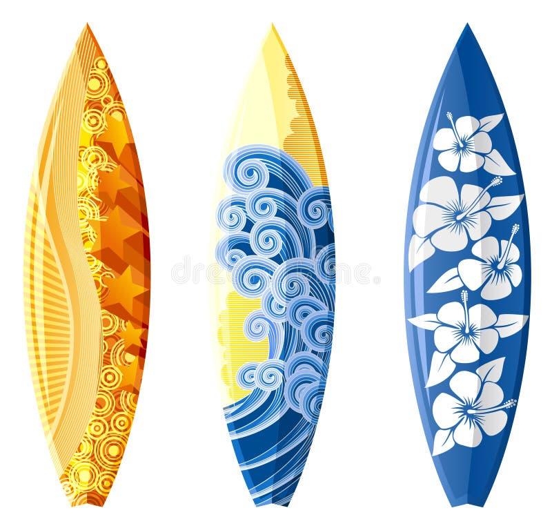 Surfboard иллюстрация вектора
