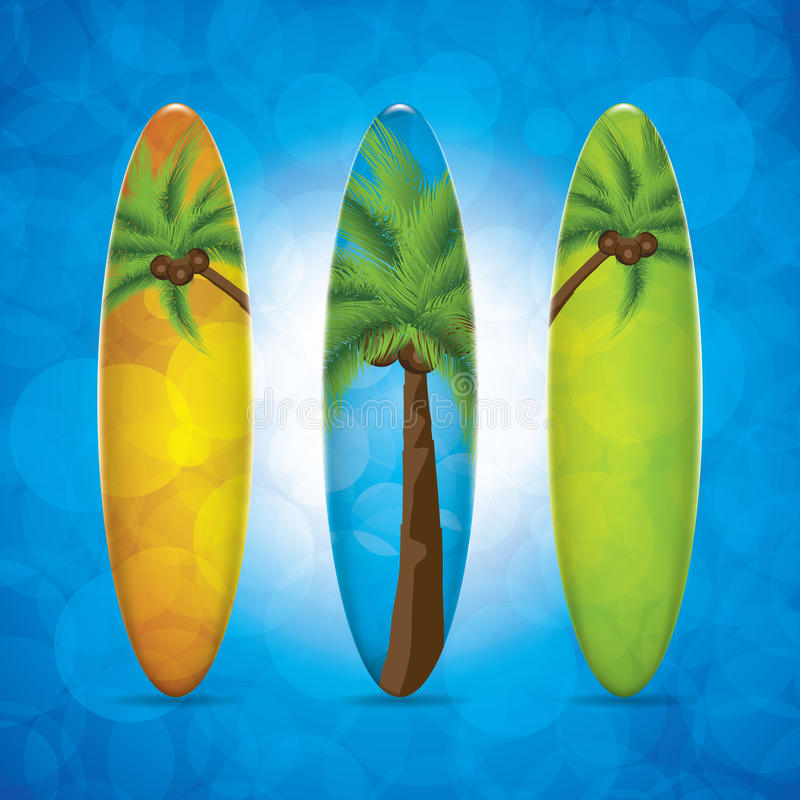 Surfboard ilustracji
