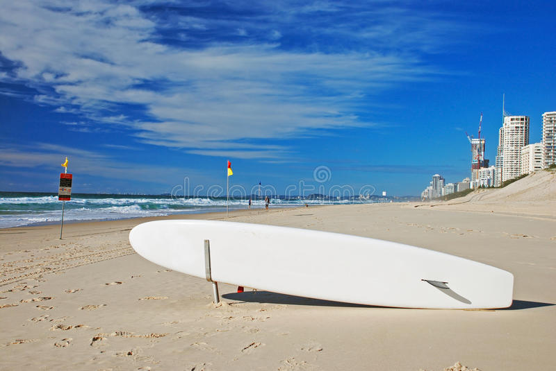 Download Surfboard on the beach stock image. Image of destination - 21151785