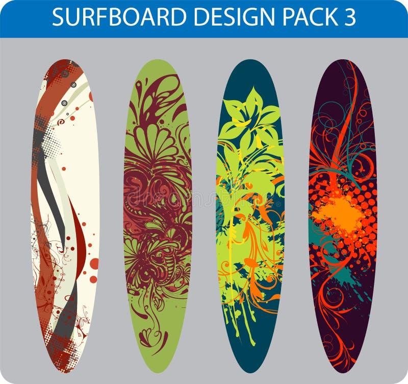 Surfboard design pack