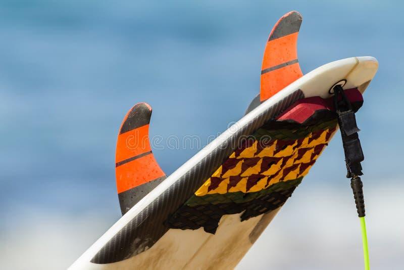 Surfboard Tail Fins stock photos