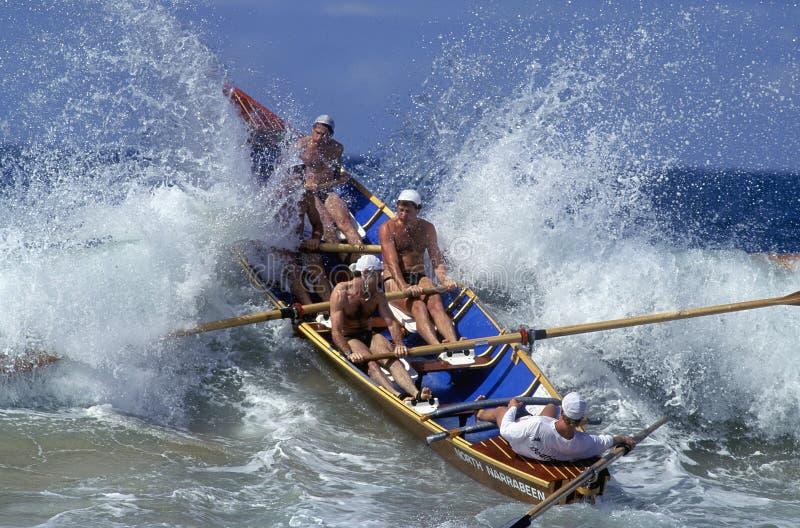 Surfboat stock fotografie