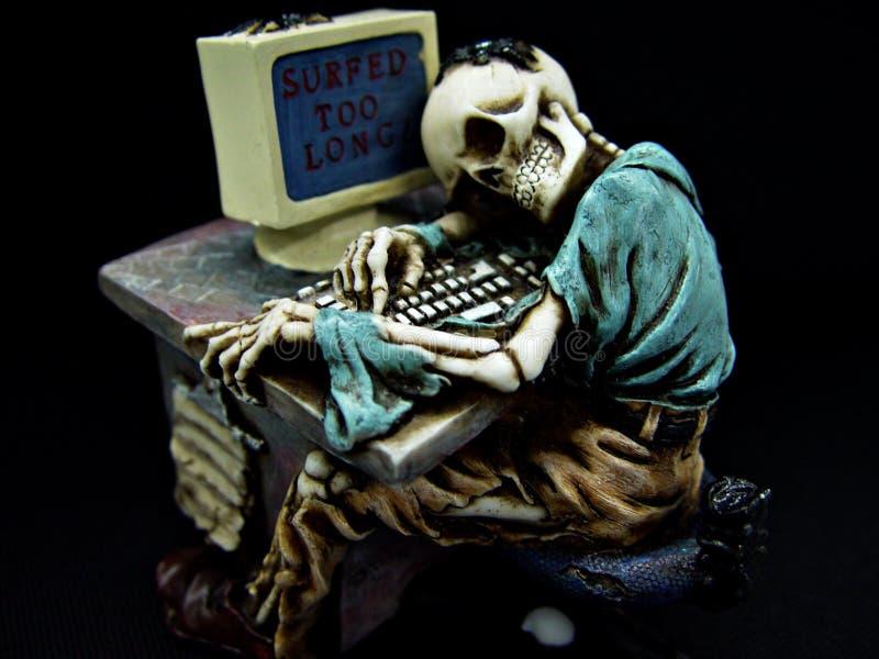 лучших скелет картинки сидит в интернете один