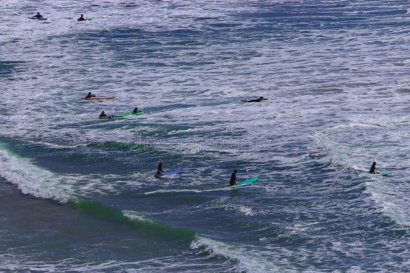 Surfen Sie sein eine Lebensart stockbild