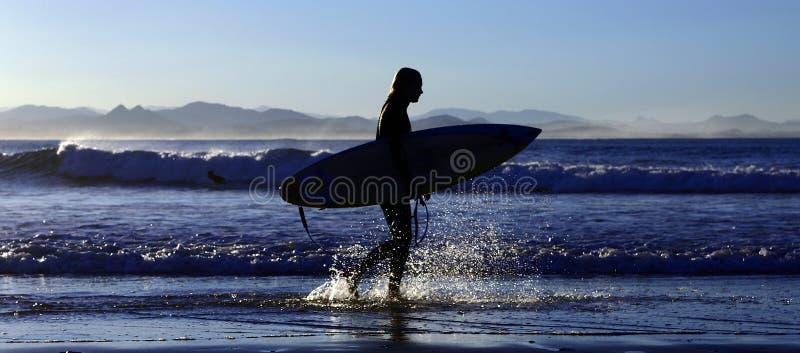 Surfer - éclaboussure photos libres de droits