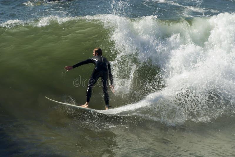 Surfer 2 stock image