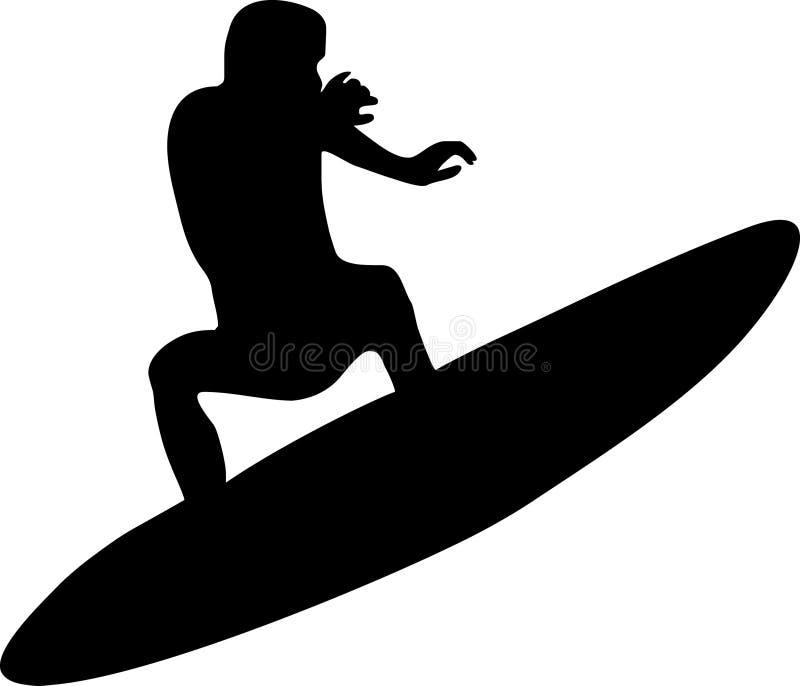 Surfer stock abbildung