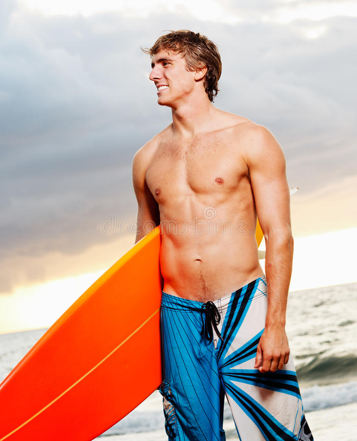 Download Surfer stock image. Image of board, masculine, summer - 23998425