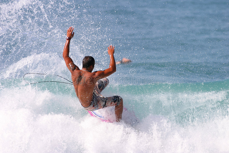 Surfer photo libre de droits