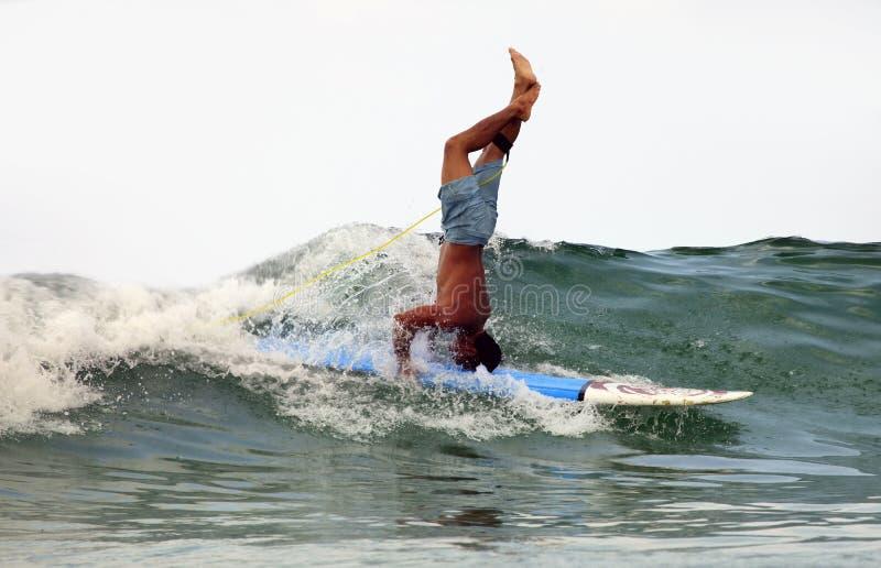 Surfer royalty-vrije stock afbeeldingen