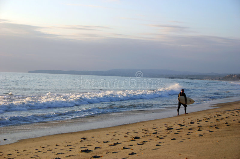 Surfer photo stock