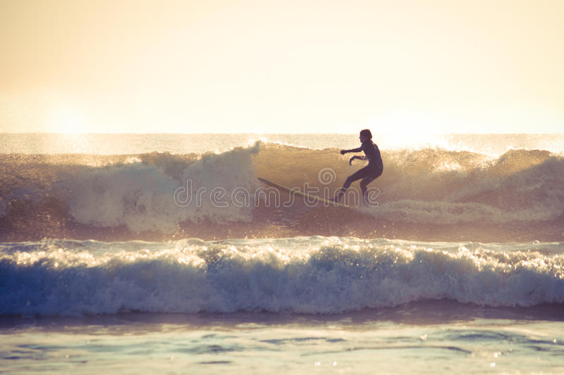 Surfer stockfoto