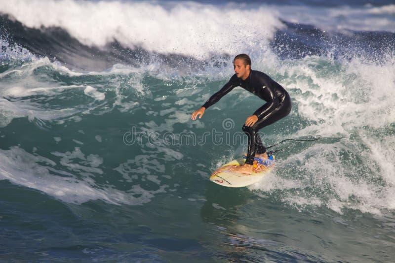 Surfer stock afbeelding