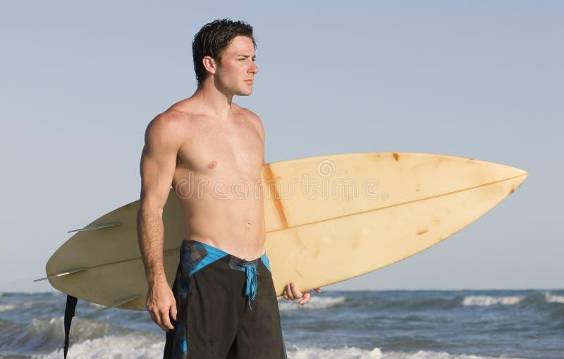 Surfer stockfotos